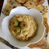 Thumbnail image for Green Olive & Pimento Hummus {Giveaway}