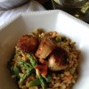 Thumbnail image for Seared Scallops with Farro & Orange Saffron Butter Sauce