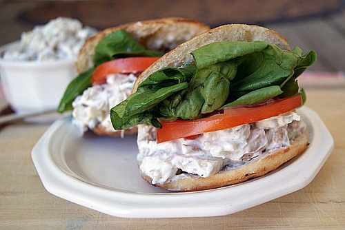 Post image for Chicken Salad Sandwich