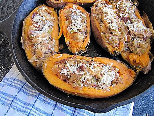Post image for Crab Stuffed Sweet Potatoes