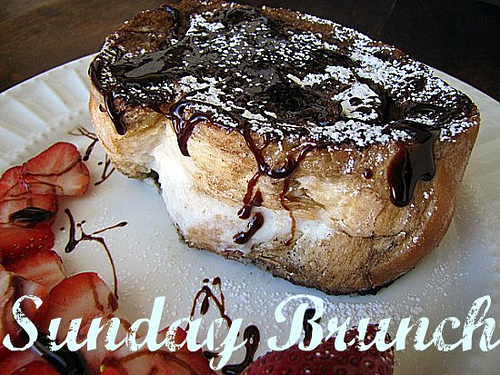 Cannoli Stuffed French Toast — Tickled Red