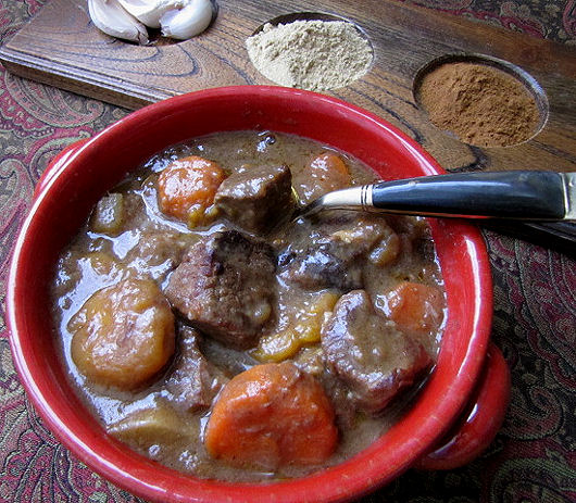 Post image for Girl Hunter Georgia Pellegrini-Moroccan Stew