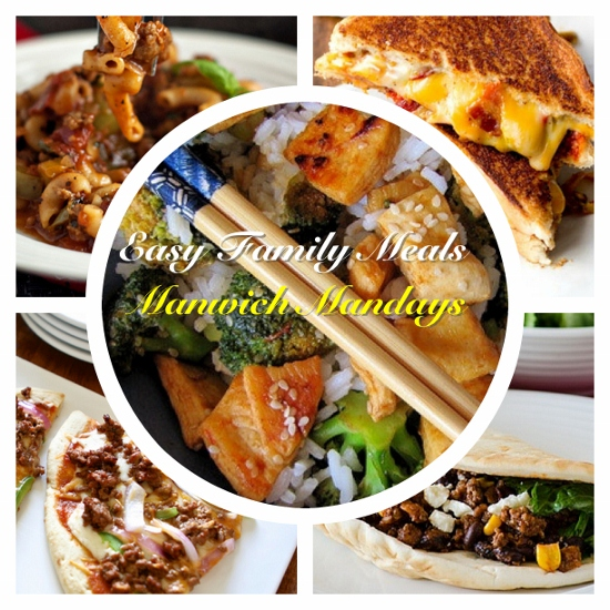 Post image for Easy Family Meals~Manwich Mandays Roundup