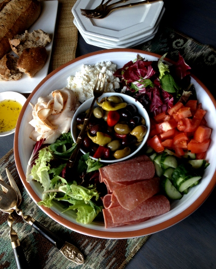 Post image for Family Style Mediterranean Salad