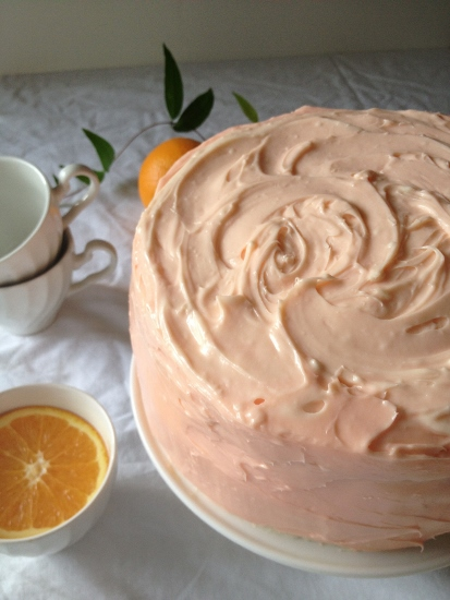 Post image for Orange Dream Birthday Cake