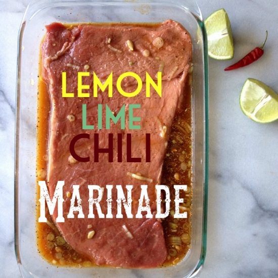 Lemon Lime Chili Marinade & Grilling With OXO