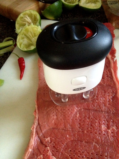 Lemon Lime Chili Marinade & Grilling with OXO    4