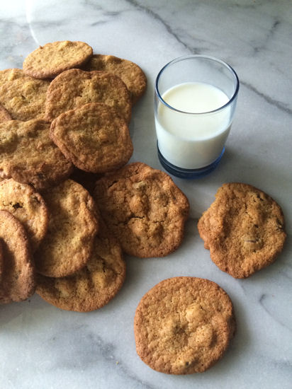 Chocolate Peanut Butter Chip Cookies - Gluten Free 5 A